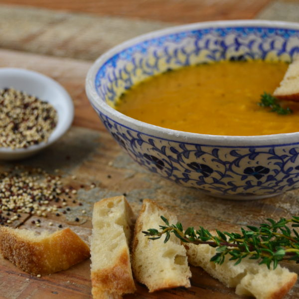 sweet potato/pumpkin soup
